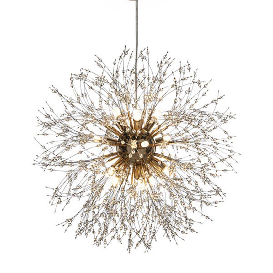Picture of MILA chandelier d60cm clear/gold