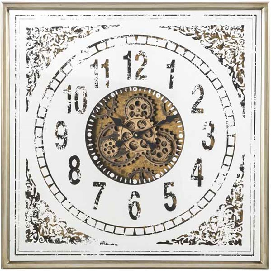 Picture of EMRYS clock 80x80 gold