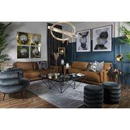 TRISTA cushion cover 45x45 grey