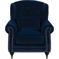 PARC wing chair blue