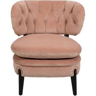 PUFF armchair microfibre pink