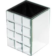 QUBE toothbrush holder clear