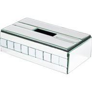 QUBE tissue box 14x26 clear