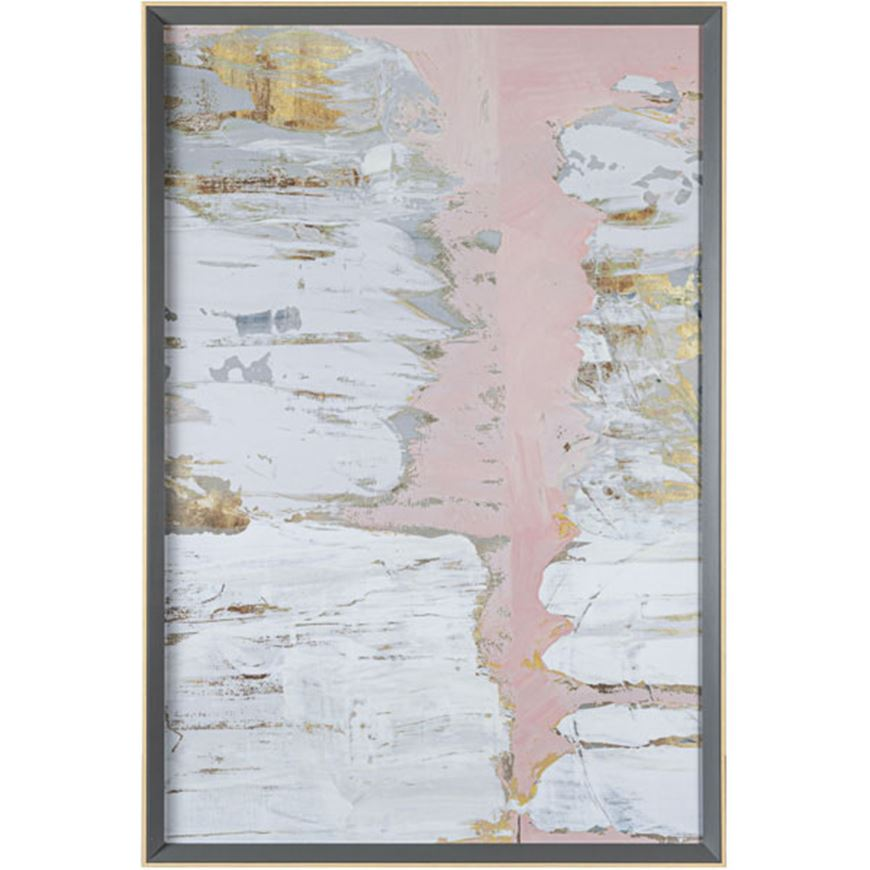 Picture of LIMESTONE II print 71x105 grey/natural